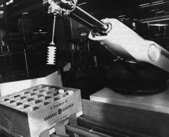 Robots industrales.