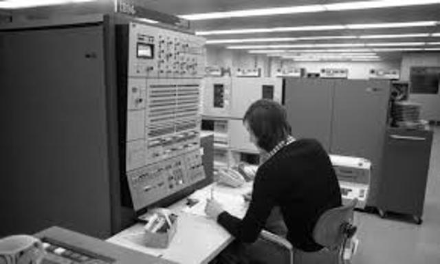 Primero modelo de la computadora IBM