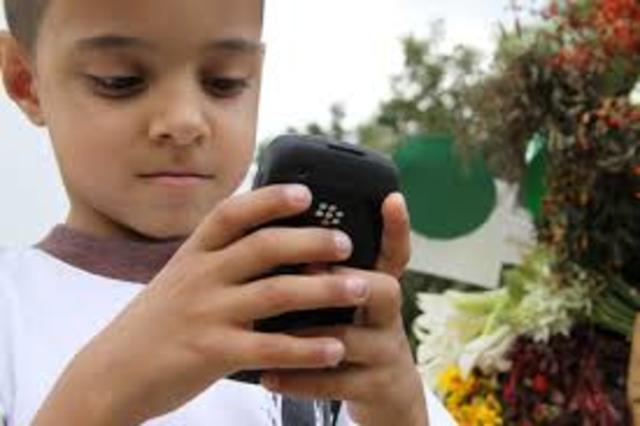 La primera ves que utilice un celular