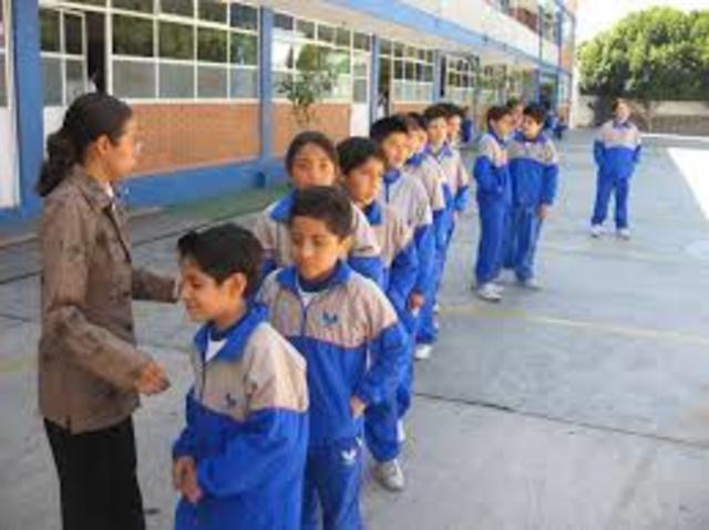 Mi primer día en primaria