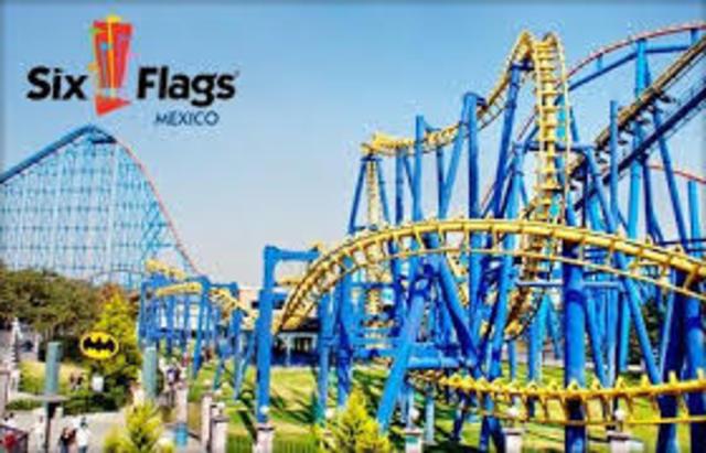 Mi primera visita a Six Flags