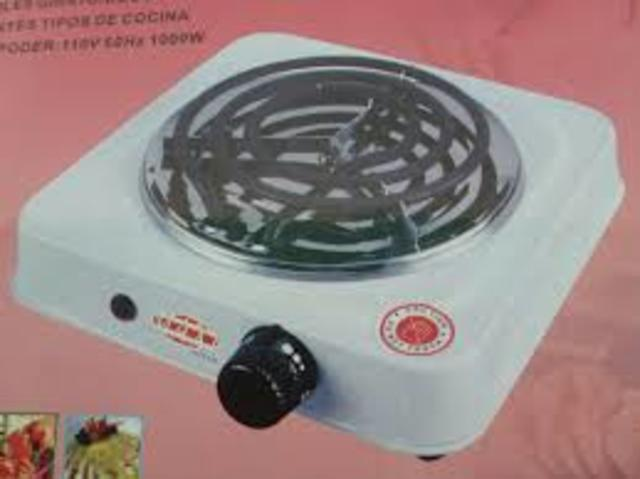Cocina de hornilla eléctrica