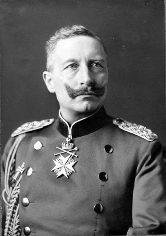 Ascenso al trono alemán de Guillermo II