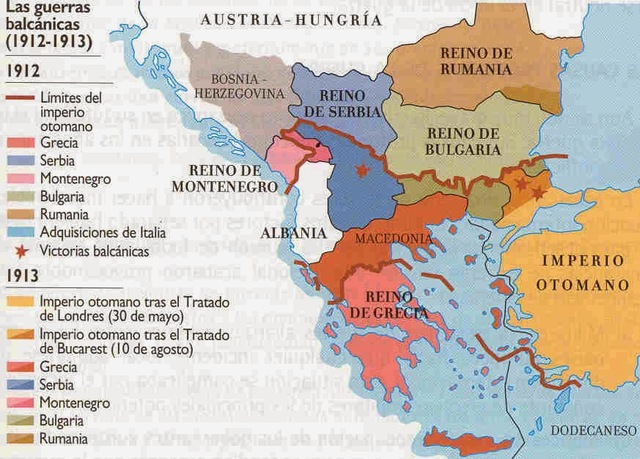 Guerra contra el Imperio Otomano (Primer Guerra Balcánica)