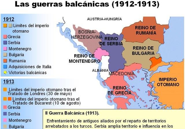 Fin de la Segunda Guerra Balcánica
