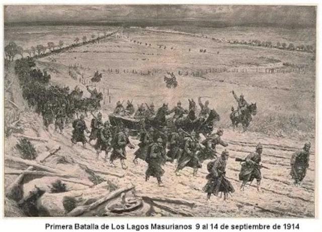 Batalla de Lagos Masurianos