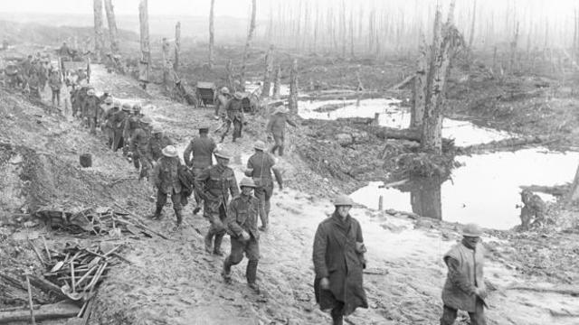 3 ataques alemanes al frente occidental