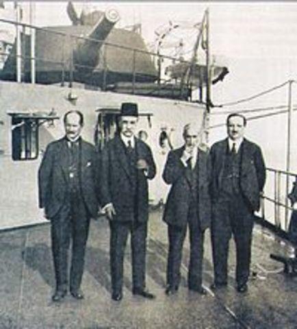Turquía firma el tratado de Sèvres