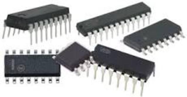 Circuitos integrados con miles de componentes.