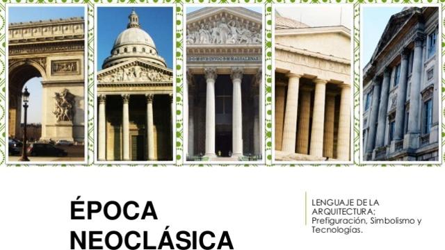 EPOCA NEOCLASICA