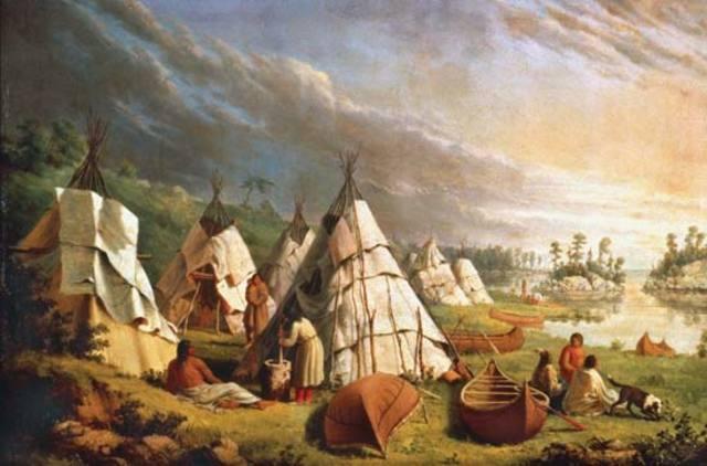 Amerindian Population