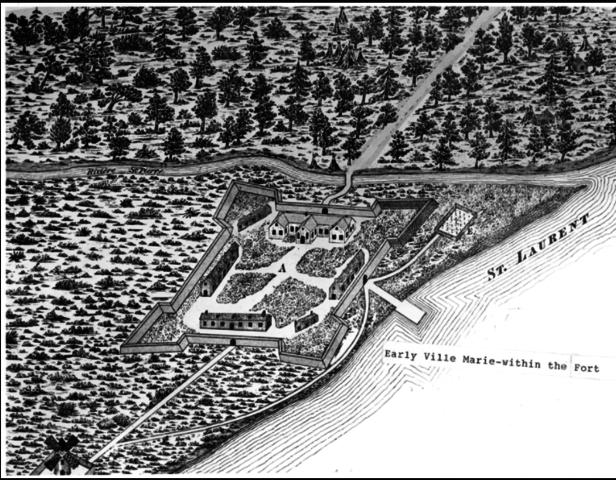 (Hochelaga) Ville-Marie (later Montréal)
