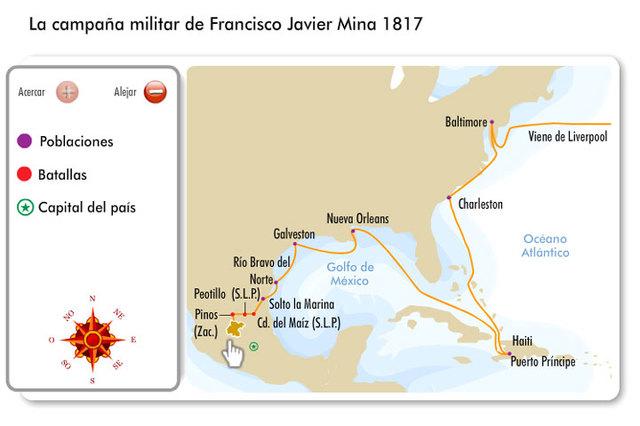 campaña militar de Javier Mina