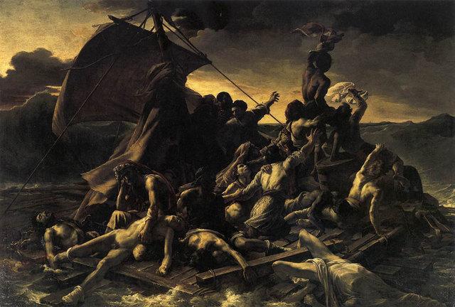 La balsa de la medusa, Théodore Géricault