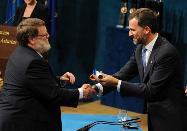 Tomlinson obtuvo el Premio Príncipe de Asturias