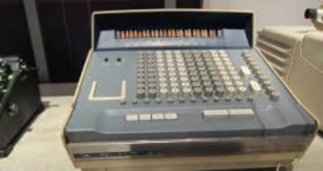 Calculadora de escritorio de Casio.