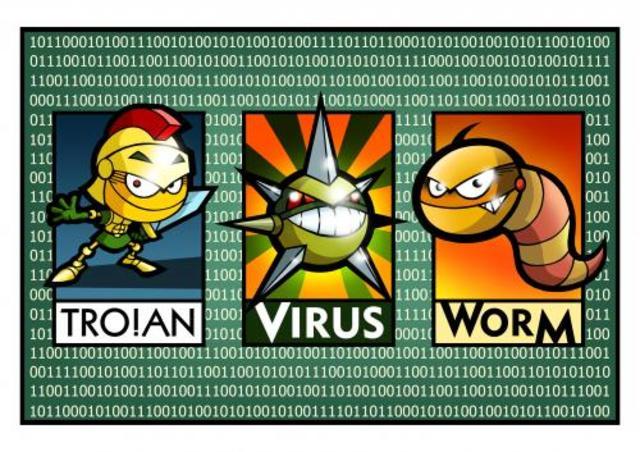 Epidemia de virus informáticos.