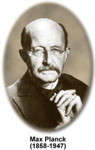 Quantum Mechanics - Max Planck