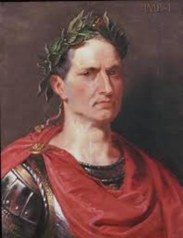 Julius Caesar becomes first dictator