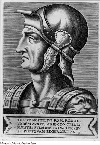Reign of Tullus Hostillius