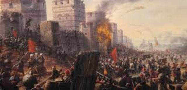 The Byzantine Empire Ends
