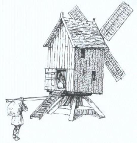 1100 - Medieval Windmills