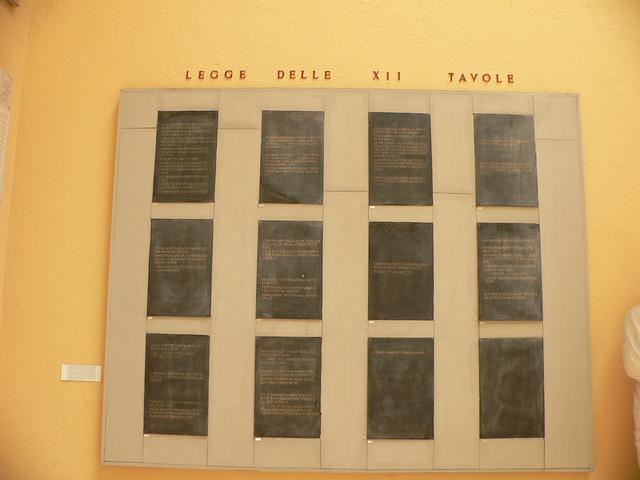 The Twelve Tables