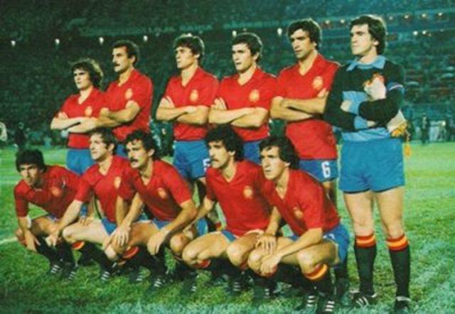 seleccion española en 1982