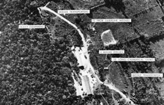 Cuban Missile Crisis Begins