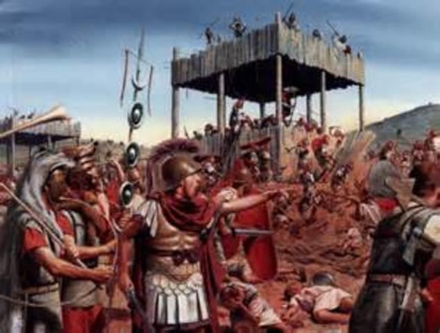 Octavian and Marc Anthony defeat Caesar's Assassins