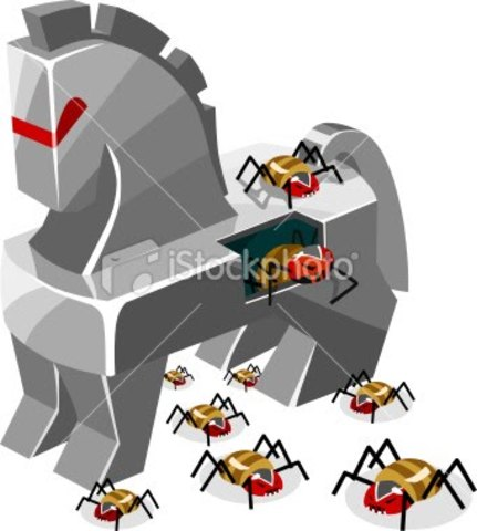 Tipos de virus: Troyanos