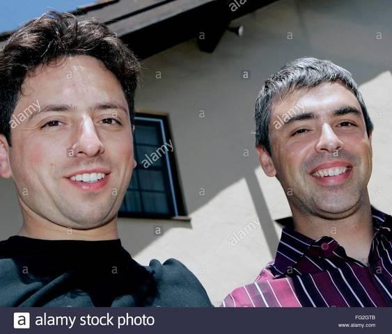 Historia de Larry Page y Sergey Brin