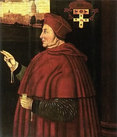 Thomas Wolsey becomes Lord Chancellor