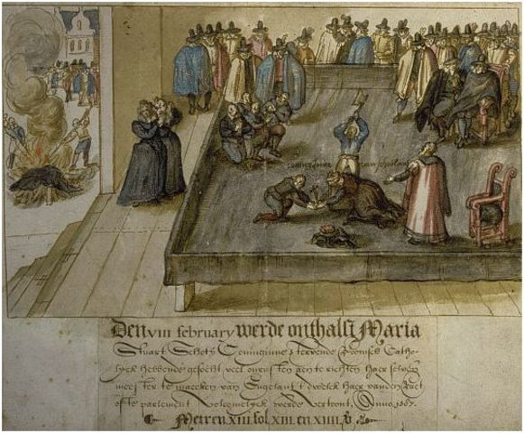 """Execution of Mary Stuart (""""Mary, Queen of Scots"""")"""
