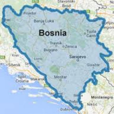 Recognized Bosnia Independence