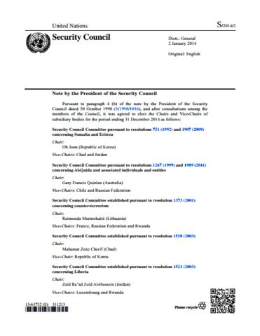 Somalia- UN Resolution 751