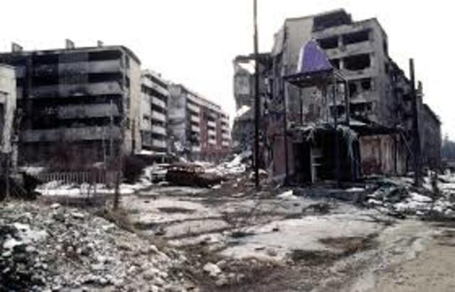 Bosnia peace efforts fail