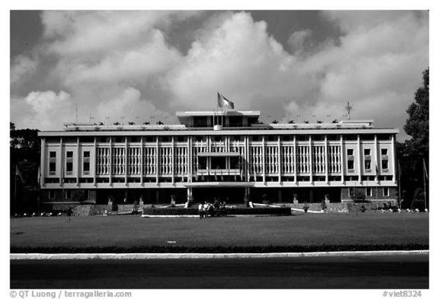 Leading to VIetnam- Presidential Palace Saigon