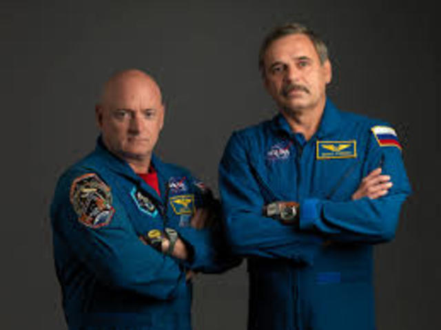 Selected along with Mikhail Korniyenko for the year long mission.