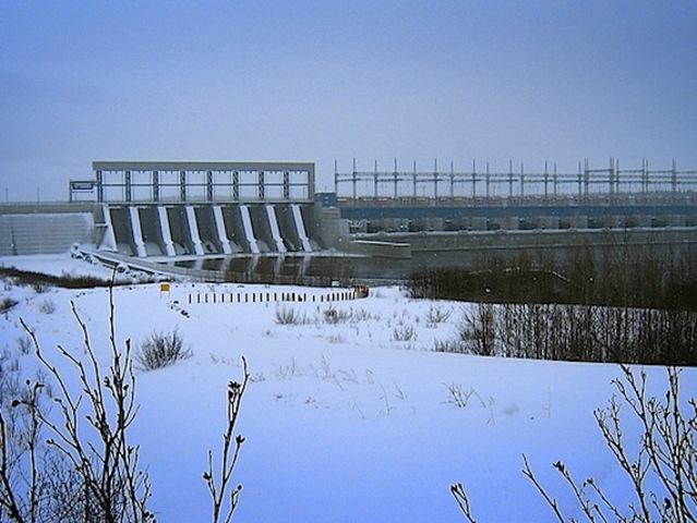 James Bay hydroelectric dams