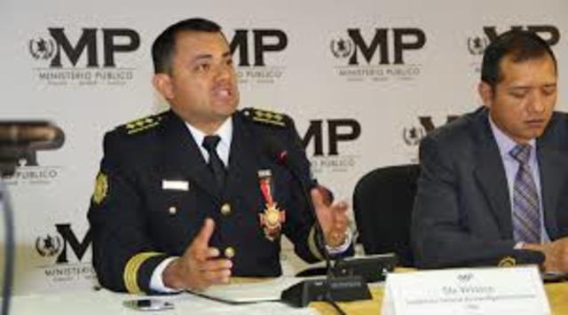 Coordinación entre el M.P. y las instancias policiales de los tres ordenes de gobierno