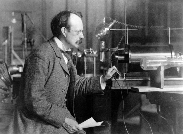 J.J Thomson  discovered electron.