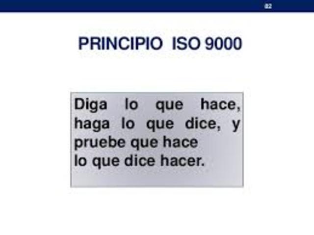 ISO (International Standard Organization).