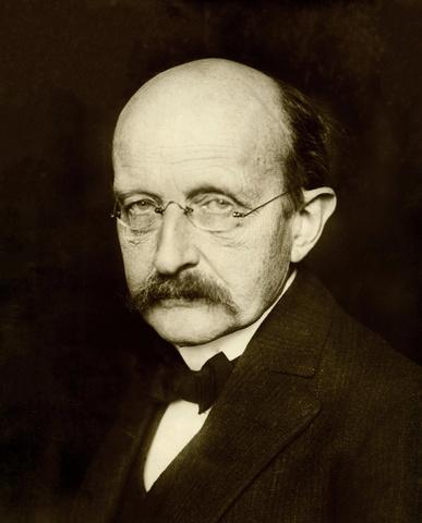 Birth of Max Planck