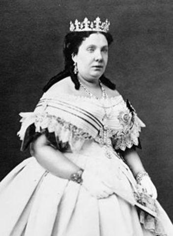 Isabel II (1833-1843) y (1843-1868)
