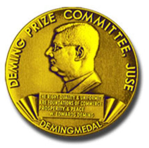 THE DEMING APPLICATION PRIZE FOR OVERSEAS COMPANIES