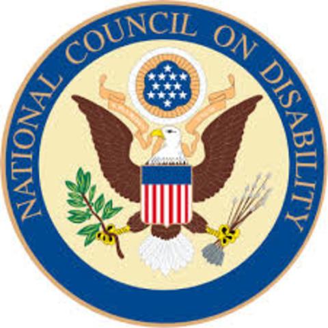 Natitonal Council on Disability