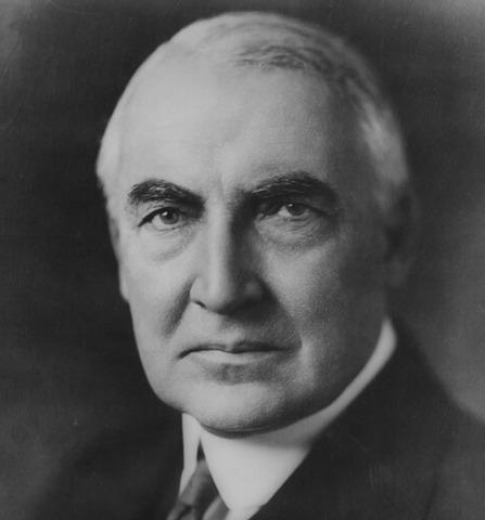Harding Elected President