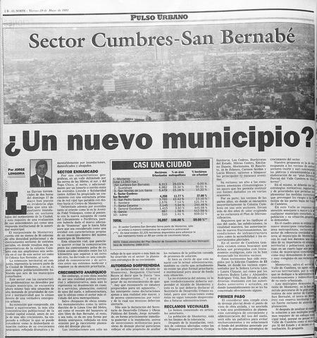 Programa de Desarrollo Municipal de Monterrey