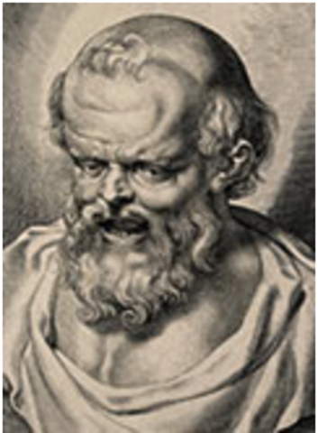 Democritus was born